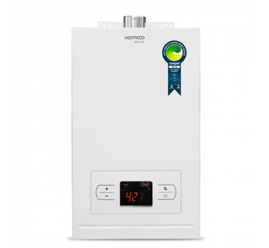 Aquecedor de Água A Gás Komeco 15D Branco - GLP
